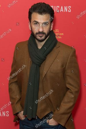 Stock Image of Michael Aronov attends FX The Americans season 6 premiere at Alice Tully Hall Lincoln Center