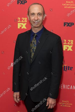 Boris Krutonog attends FX The Americans season 6 premiere at Alice Tully Hall Lincoln Center