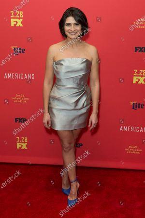 Stock Picture of Vera Cherny attends FX The Americans season 6 premiere at Alice Tully Hall Lincoln Center
