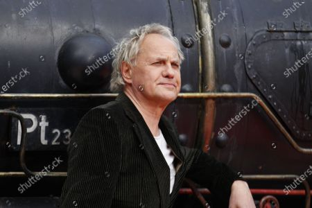 """Berlin: The world premiere of """"Jim Knopf and Luke the locomotive driver"""" in front of the Sony Center on Potsdamer Platz. The photo shows the actor Uwe Ochsenknecht on the red carpet."""