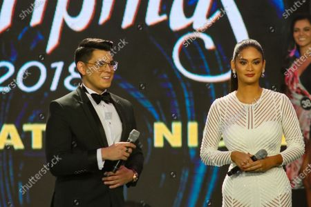 The main host of the event were Miss Universe 2015 Pia Wurtzbach and actor Richard Gutierrez