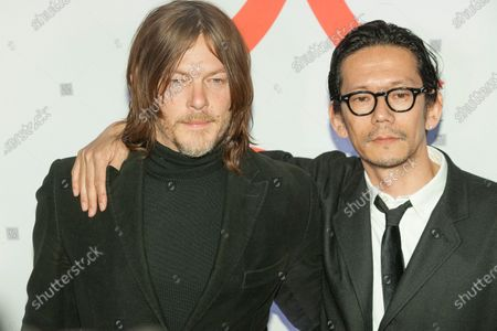 Norman Reedus and Kunichi Nomura attend Isle of Dogs New York special screening at Metropolitan museum