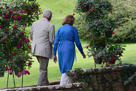 Editorial image of King Carl Gustaf and Queen Silvia, Borgholm, Sweden - 08 Aug 2020