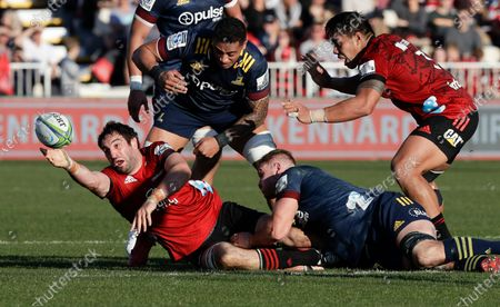 Editorial picture of Super Rugby, Christchurch, New Zealand - 09 Aug 2020