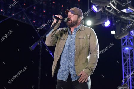Rodney Atkins performs at Concerts in Your Car at the Ventura County Fairgrounds, in Ventura, Calif