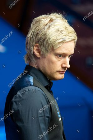 Editorial picture of Exclusive - Betfred World Snooker Championship, Day Ten, Crucible Theatre, Sheffield, UK - 09 Aug 2020
