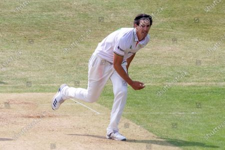 Editorial photo of Leicestershire County Cricket Club v Derbyshire County Cricket Club, Bob Willis Trophy - 09 Aug 2020