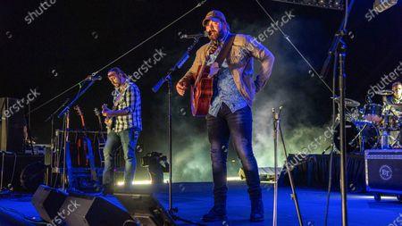 Ben Miller, Rodney Atkins and Kevin Smith