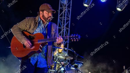 Editorial image of Covid aware Concerts In Your Car, Ventura County Fairgrounds and Event Center, Ventura, California, USA - 08 Aug 2020