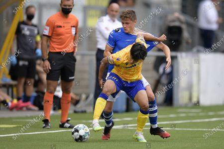 Editorial picture of Soccer Jpl Day 01 Stvv Vs Kaa Gent, Sint-Truiden, Belgium - 09 Aug 2020