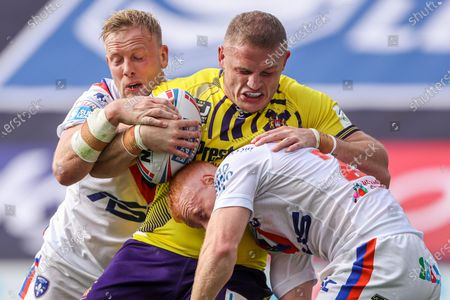 Editorial picture of Wakefield Trinity v Wigan Warriors. Leeds, UK - 09 Aug 2020