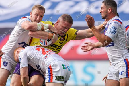 Editorial image of Wakefield Trinity v Wigan Warriors. Leeds, UK - 09 Aug 2020