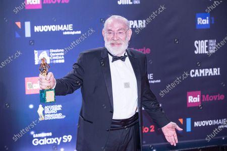 Renato Carpentieri, winner of the David di Donatello for leading actor