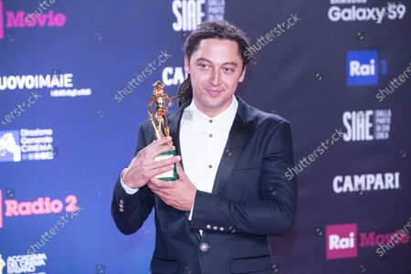 Jonas Carpignano, winner of the David di Donatello for best direction