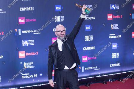Editorial picture of The David di Donatello Awards, Press Room, Rome, Italy - 21 Mar 2018