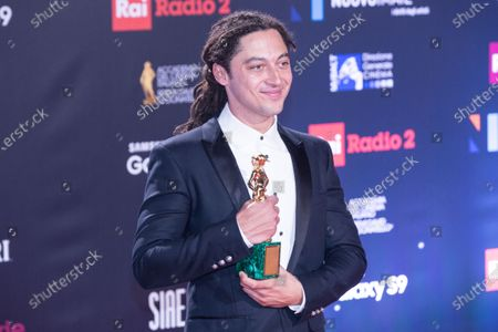 Editorial picture of The David di Donatello Awards, Press Room, Rome, Italy - 21 Mar 2018