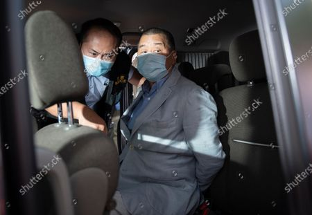 Editorial picture of Police arrest media tycoon Jimmy Lai in Hong Kong, China - 10 Aug 2020