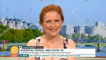 Editorial image of 'Good Morning Britain' TV Show, London, UK - 10 Aug 2020