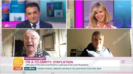 Adil Ray, Kate Garraway, Christopher Biggins and Ray Mears
