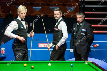 Neil Robertson and Mark Selby