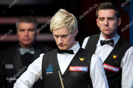 Editorial image of Exclusive - Betfred World Snooker Championship, Day Eleven, Crucible Theatre, Sheffield, UK - 10 Aug 2020