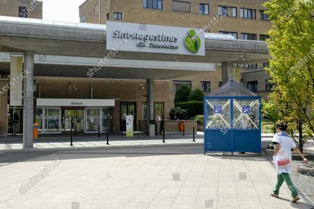 Illustration picture shows the Sint-Augustinus hospital, in Wilrijk, datetext.