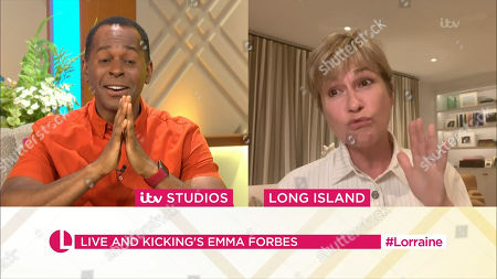 Stock Image of Andi Peters and Emma Forbes