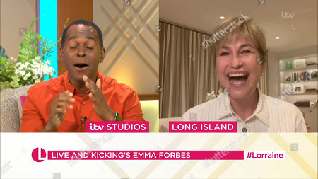 Stock Photo of Andi Peters and Emma Forbes