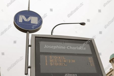 Illustration picture shows Metrostation Metro Staion Josephine-Charlotte, of the STIB-MIVB Monday 04 February 2019, in Brussels.