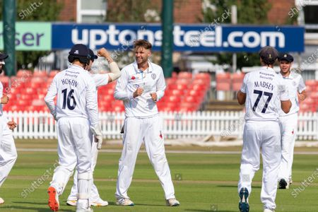 Editorial picture of Leicestershire County Cricket Club v Derbyshire County Cricket Club, Bob Willis Trophy - 10 Aug 2020