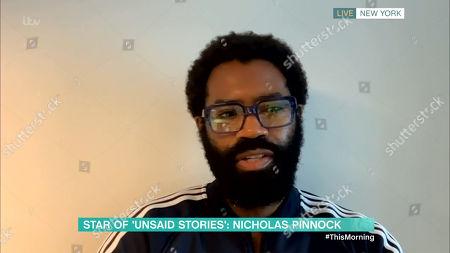 Stock Image of Nicholas Pinnock