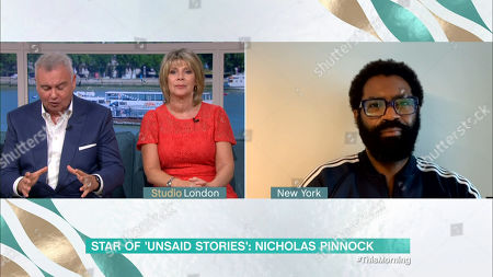 Editorial image of 'This Morning' TV Show, London, UK - 10 Aug 2020