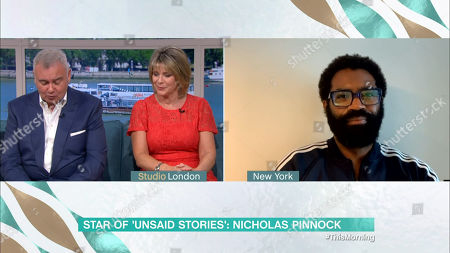 Eamonn Holmes, Ruth Langsford and Nicholas Pinnock