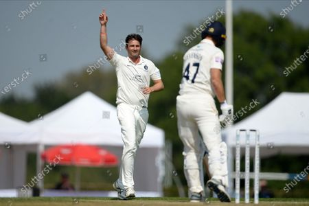 Editorial picture of Middlesex County Cricket Club v Hampshire County Cricket Club, Bob Willis Trophy - 10 Aug 2020