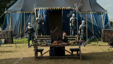 Stock Image of Sebastian Armesto as King Uther Pendragon