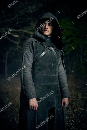 Stock Image of Daniel Sharman as The Weeping Monk
