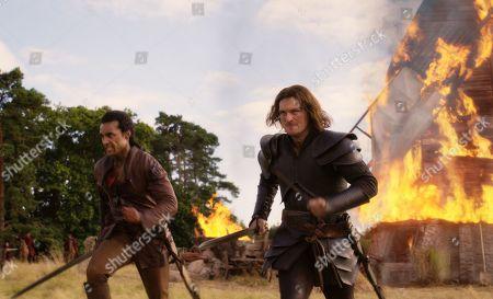 Devon Terrell as Arthur and Matt Stokoe as Gawain