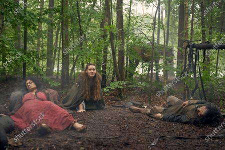 Sandra Teles as Clothilde and Katherine Langford as Nimue