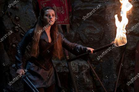 Stock Photo of Katherine Langford as Nimue