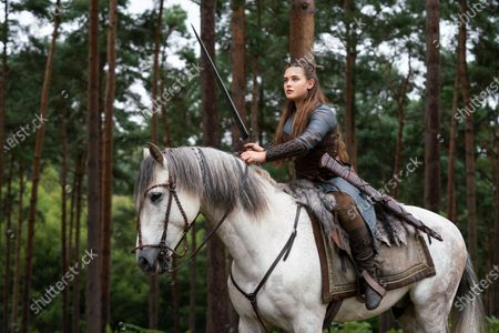 Stock Picture of Katherine Langford as Nimue