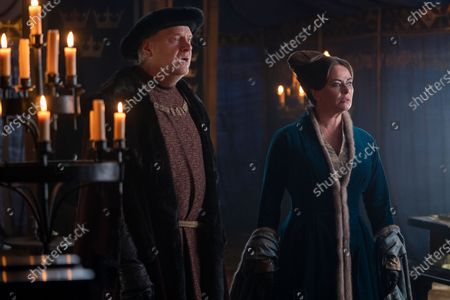 Jasper Jacob as Sir Borley and Polly Walker as Lady Lunete