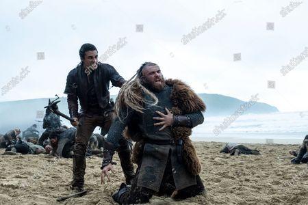 Stock Photo of Devon Terrell as Arthur and Jay McDonald as Paladin Torturer