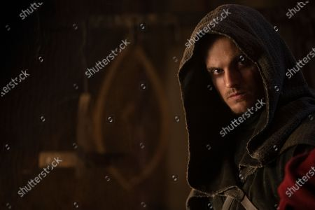 Stock Picture of Daniel Sharman as The Weeping Monk