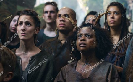 Editorial photo of 'Cursed' TV Show, Season 1 - 2020