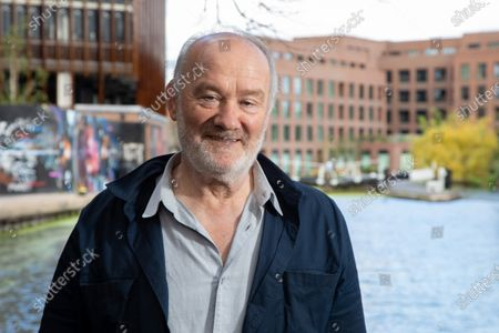 Editorial image of Vince Power, Irish music venue and festival owner photoshoot, Camden Lock, London, UK - 28 Jul 2020