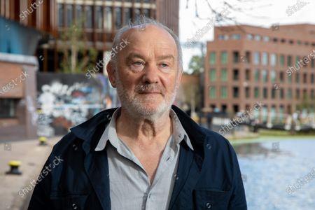 Editorial photo of Vince Power, Irish music venue and festival owner photoshoot, Camden Lock, London, UK - 28 Jul 2020