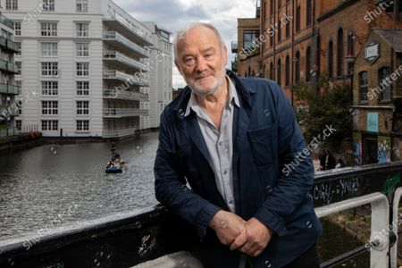 Stock Photo of Vince Power, Irish music venue and festival owner and founder of Mean Fiddler who lives and operates in London. He is photographed at Camden Lock, near to Dingwalls which he purchased in June 2020.