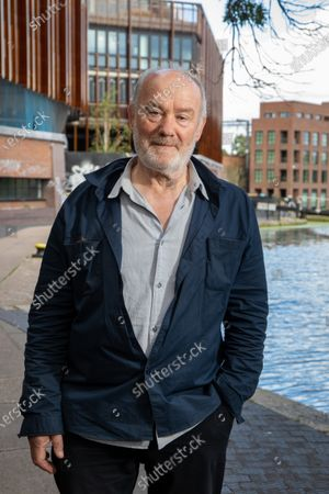 Stock Image of Vince Power, Irish music venue and festival owner and founder of Mean Fiddler who lives and operates in London. He is photographed at Camden Lock, near to Dingwalls which he purchased in June 2020.