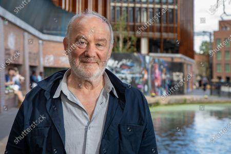 Stock Picture of Vince Power, Irish music venue and festival owner and founder of Mean Fiddler who lives and operates in London. He is photographed at Camden Lock, near to Dingwalls which he purchased in June 2020.