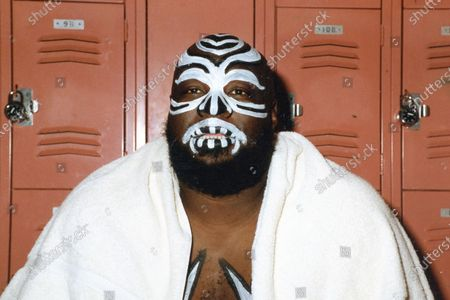 Stock Picture of Wrestler, James Harris, better known by the ring name Kamala, Has Passed Away. Kamala The Ugandan Giant circa the late 1980's.